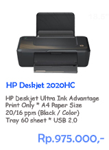 Printer HP Deskjet 2020HC
