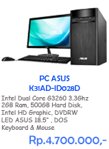PC ASUS K31AD-ID028D