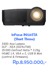 Infocus IN124STA - Short Throw