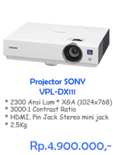 Projector Sony VPL-DX111