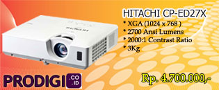 Projector Hitachi CP-EX27X